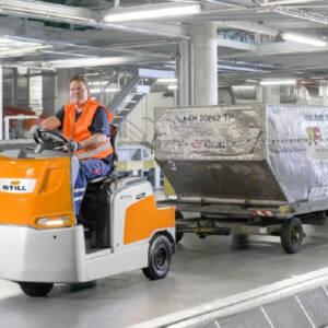 Платформи и влекачи STILL – машини за вътрешнозаводски транспорт
